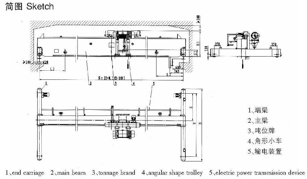 LDP电动单梁起重机