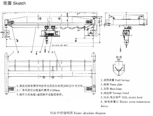 YLD型冶金电动单梁万博首页登录APP下载