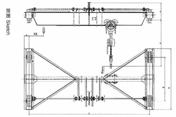 SL型手动单梁起重机